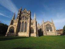 Ely Cathedral i Ely royaltyfri fotografi