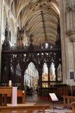 Ely Cathedral interior foto de archivo