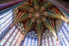Ely Cathedral, l'ottagono Fotografia Stock