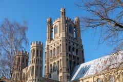 Ely Cathedral, une cathédrale du 10ème siècle chez Ely, Cambridgeshire, R-U photo libre de droits