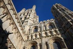 ely katedralny kościół England Zdjęcia Royalty Free