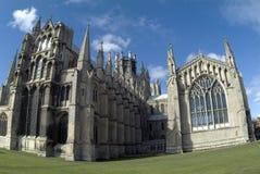 Ely Kathedrale vom Osten Lizenzfreies Stockbild