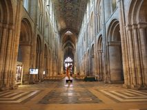 ELY, UK - CIRCA OCTOBER 2018: Ely Cathedral (formerly church of St Etheldreda and St Peter and Church of the Holy and Undivided stock photography