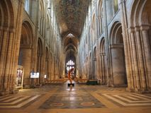 ELY, UK - CIRCA OCTOBER 2018: Ely Cathedral (formerly church of St Etheldreda and St Peter and Church of the Holy and Undivided stock images