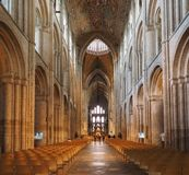 ELY, UK - CIRCA OCTOBER 2018: Ely Cathedral (formerly church of St Etheldreda and St Peter and Church of the Holy and Undivided stock photos