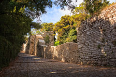 Elymian and Phoenician fortress, Erice Royalty Free Stock Photos
