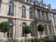 Elysee Palace. Sight on the side garden Royalty Free Stock Photo