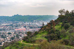 Elysian Park Trail. View of Elysian Park Trail Royalty Free Stock Images