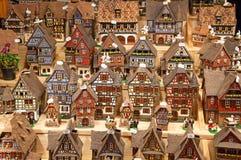 Elzassische huizen Royalty-vrije Stock Afbeeldingen