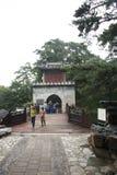 Em Ásia, chinês, Pequim, o palácio de verão, Yin Hui Cheng guan, Imagem de Stock Royalty Free