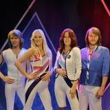 Em ABBA o museu em Éstocolmo Fotos de Stock