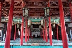 Em abril de 2015 - mesquita do si de Jinan, China - de Qingzhen em Jinan Foto de Stock Royalty Free