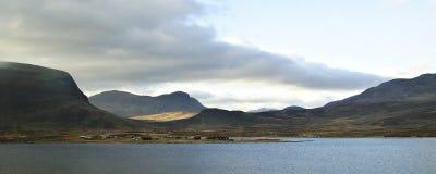 Em algum lugar em Noruega do sul Imagens de Stock Royalty Free