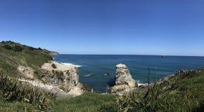 Em algum lugar em Nova Zelândia Foto de Stock Royalty Free