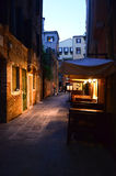 Em algum lugar em Veneza Fotos de Stock Royalty Free