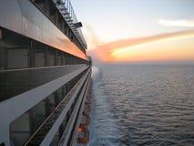 Em algum lugar no mar do Cararibe. Fotos de Stock Royalty Free