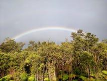 Em algum lugar sobre o arco-íris Imagens de Stock
