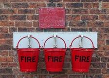 Em caso do incêndio Fotografia de Stock Royalty Free