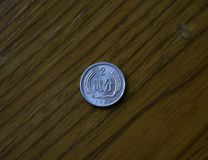 Em 1987 a circulação de moedas de RMB RMB foto de stock royalty free