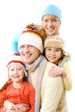 Em férias do inverno imagem de stock