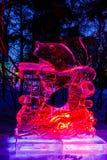 Em fevereiro de 2013 - Harbin, China - festival de lanterna do gelo Imagem de Stock