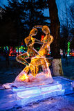 Em fevereiro de 2013 - Harbin, China - festival de lanterna do gelo Fotografia de Stock Royalty Free