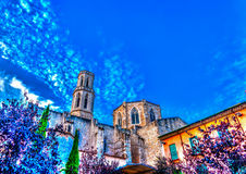 Em Figueres na Espanha foto de stock royalty free