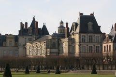 Em Fontainebleau Foto de Stock