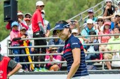 Em Gee Chun de Coreia do Sul em Honda LPGA Tailândia 2016 imagem de stock