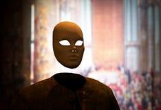 Em incógnito máscara Imagem de Stock Royalty Free
