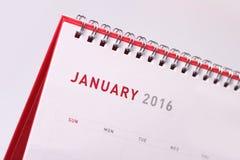 Em janeiro de 2016 foto de stock