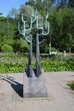 Em julho de 2015 A árvore da amizade St Petersburg, Rússia Imagens de Stock Royalty Free