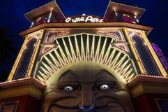 Em Luna Park foto de stock