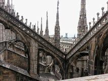 Em Milan Cathedral Fotos de Stock Royalty Free