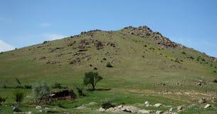 Em montanhas de Macin Fotos de Stock