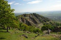 Em montanhas de Macin Imagem de Stock