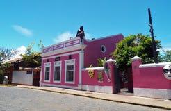 Em Olinda/PE di Centro Cultural fotografia stock