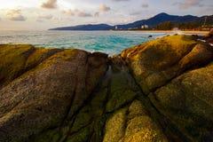 Em pedras de Karon Fotografia de Stock