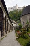 Em Salzburg velho Foto de Stock Royalty Free
