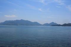 em Seto Inland Sea, Japão fotos de stock royalty free