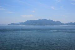 em Seto Inland Sea, Japão foto de stock