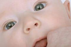 Em seus olhos Imagens de Stock