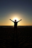 Em The Sun Fotografia de Stock