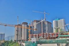 Em Tai Estate na construção inferior Foto de Stock