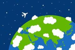 Em todo o mundo Imagem de Stock