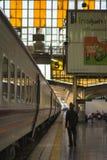 Em torno de Banguecoque a estação de trem ou Hua Lamphong Station são a estação de trem principal em Banguecoque, Tailândia Imagens de Stock