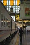 Em torno de Banguecoque a estação de trem ou Hua Lamphong Station são a estação de trem principal em Banguecoque, Tailândia Foto de Stock