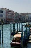 Em torno do canal grande, Veneza Fotografia de Stock Royalty Free