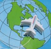 Em torno do mundo Imagem de Stock Royalty Free