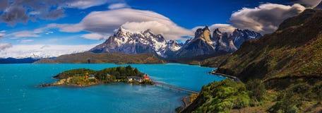 Em torno do Patagonia chileno imagem de stock royalty free